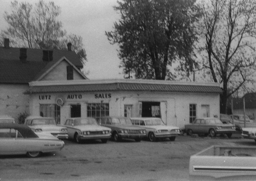 West Auto Sales >> Columbus Indiana Pictures Of Revelopment Project I Downtown 1960's